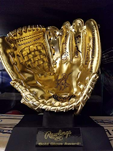 hed Signed Rawlings Gold Mini Baseball Glove Inscribed Wizard Of Oz Memorabilia PSA/DNA ()