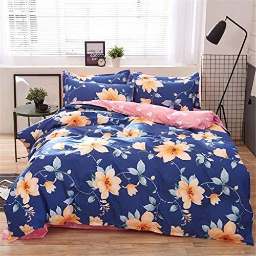 Mandarin Duck Bedding Sets Cotton Set Reactive Printing Comforter Bed Set Queen Full Size 4 Pcs AS2 ()