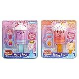 Num Noms Snackables Melty Pops- Peachy Pop and Sprinkler Pop Bundle