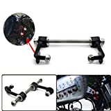 Durable 2'' Gas Tank Lift Kit for Harley Sportster XL883 XL1200 Irons Nightsters 1995-UP