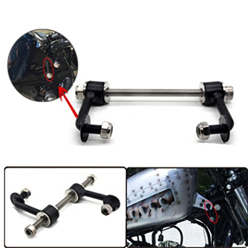 Durable 2'' Gas Tank Lift Kit for Harley Sportster XL883 XL1200 Irons Nightsters 1995-UP by BOXWELOVE