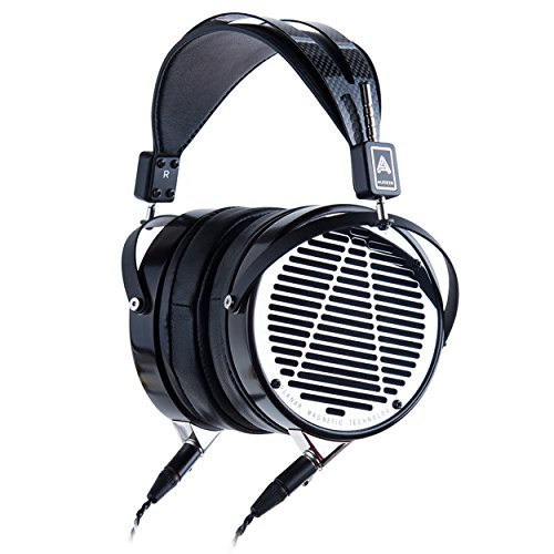 Audeze LCD-4 Over Ear | Open Back Headphone | Ebony Wood Ring | Leather Ear Pads