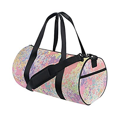 durable modeling QINGYANG Duffle Bag Sports Bag Colour Graffiti Luggage Bag  with Shoulder Strap for Men 7f3eab5455544