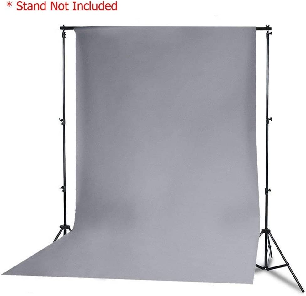 StudioFX Muslin Backdrop 100% Cotton Photography Photo by Kaezi Photo Grey (Gray Muslin - 10ft x 10ft)