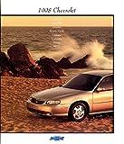 1998 CHEVROLET FULL-LINE: MALIBU/CAVALIER/LUMINA/MONTE CARLO/CAMARO/CORVETTE/PRIZM/METRO COLOR SALES BROCHURE - USA - EXCELLENT ORIGINAL !!