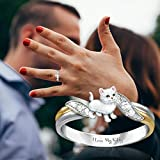 2021 Statement Ring for Women Girls, Personalized