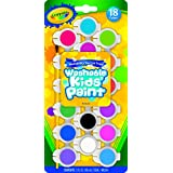 Crayola 54-0125 18 Count Assorted Colors Washable Kid's Paint