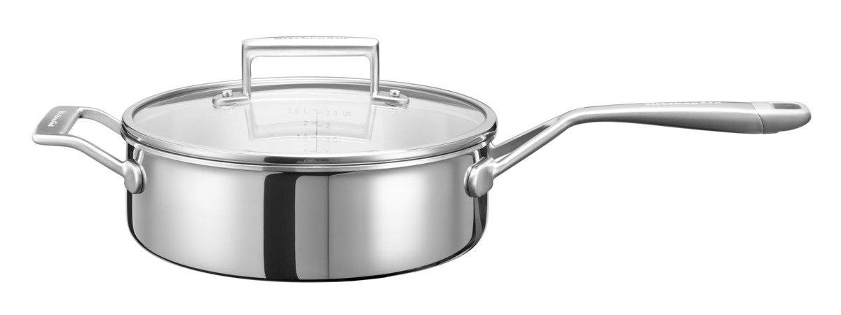 Kitchenaid kc2t35ehst - Cazo (Acero Inoxidable, 24 x 24 x 8 cm ...