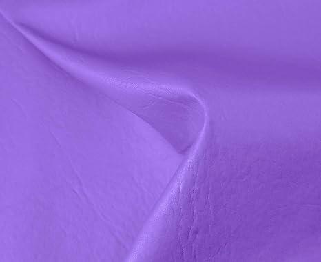 1 Metro de Polipiel para tapizar, Manualidades, Cojines o forrar Objetos. Venta de Polipiel por Metros. Diseño Sugan Color Lila Ancho 140cm