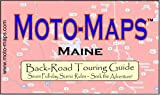 Moto-Maps Maine, Keith Myers, 0976484838