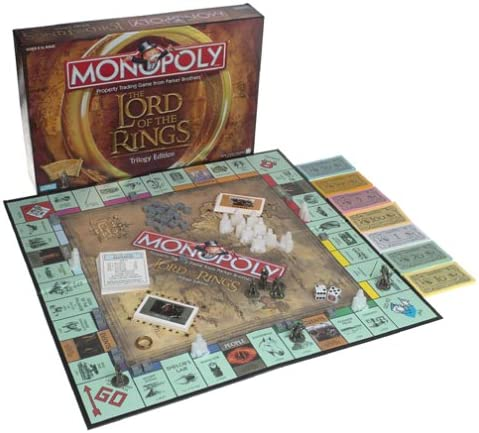 Lord of the Rings Monopoly Trilogy Edition 2012 The Hobbit  Middle-earth SEALED