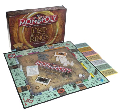 Monopoly - The Lord of the Rings Trilogy Edition by Hasbro