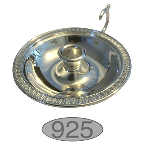 Silver Empire Candelabra (925 Silber Sterling Empire Candelabra Diameter 10 Cm Silver 925)