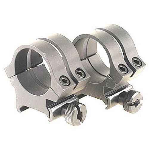Weaver Quad Lock 1-Inch High Detachable Rings (Silver)