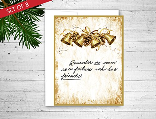 It's a Wonderful Life Christmas cards - Set of 8