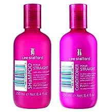 Lee Stafford Poker Straight Shampoo & Conditioner Duo 2 x 250ml