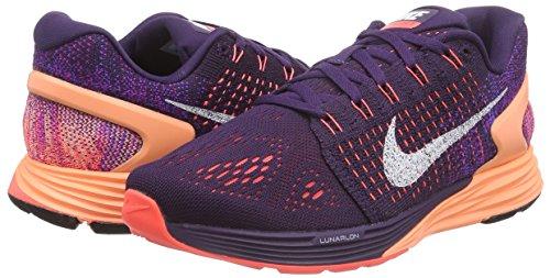the best attitude df927 e5fb6 Nike Women s Lunarglide 7 Running Shoes Purple Size  3 UK  Amazon.co.uk   Shoes   Bags
