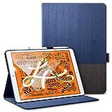 ESR Book Cover Design Case, for iPad Mini 5 Case with Pencil Holder, ESR Urban Premium Folio Series Case Specially Designed for iPad Mini 5 2019, Multi-Angle Viewing Stand, Auto Sleep/Wake (Knight)