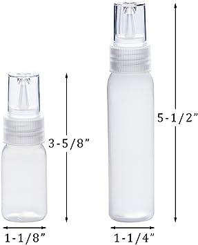 Kingrol 30-Pack Squeeze Writer Bottles Crafts 1oz. x 15 pcs, 2oz. x 15 pcs 1 Ounce /& 2 Ounces Applicator Bottle for Cookie Decorating Sauces Royal Icing Supplies