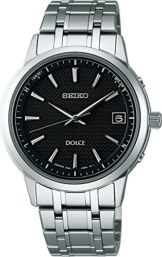 SEIKO watches DOLCE Dolce titanium pair watch solar radio Modify sapphire glass super clear coating for everyday life waterproof SADZ167 Men