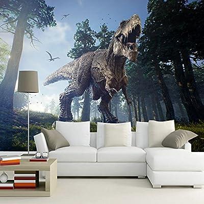 Leegt Personalizado 3D Photo Wallpaper Forest Dinosaur ...