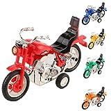 Sunny&Love 2018 Mini Motorcycle Toy Pull Back Motorcycle Early Model Educational Toys (Random)