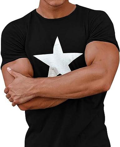 Berimaterry Camiseta Hombre, Camiseta de Cráneo Hombre Militares Camisetas Deporte Ropa Deportiva Camisa de Manga Corta de Camuflaje Slim Fit Casual para Hombres Tees Tops Blusa: Amazon.es: Ropa y accesorios