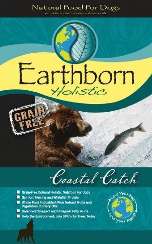 Earthborn Holistic Coastal Catch Grain-Free Dry Dog Food, 28-Pound Bag, My Pet Supplies