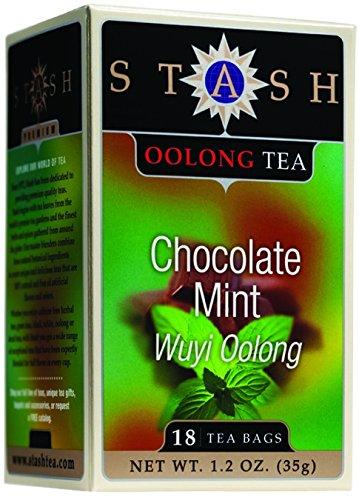 Stash Tea Oolong Chocolate Mint Tea