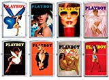 Zippo PlayBoy Cover 8 Lighter Set Pin Up Pinup RARE set #6