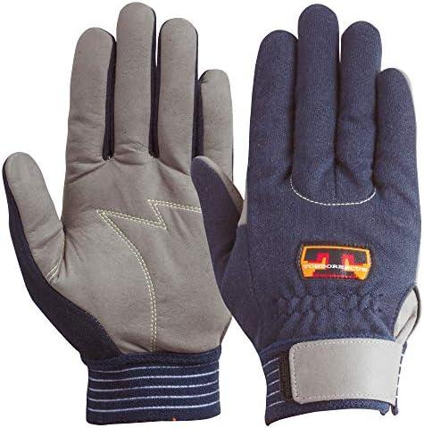 ユアサグローブ トンボレスキュー ケブラー繊維耐切創手袋 3Lサイズ KE303NV-3L 5双入 点検整備・一般作業・災害救助・防災対策・レジャー