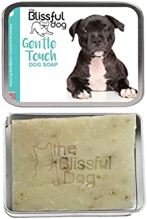 product image for The Blissful Dog Staffordshire Bull Terrier Gentle Touch bar Soap