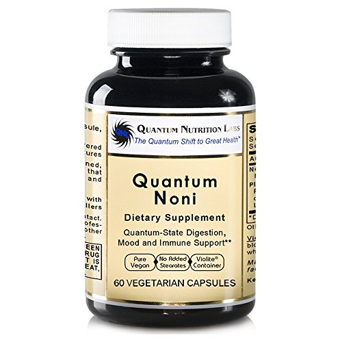 Quantum Noni, 240 VCaps 4 bottles - Morinda Citrifolia Premier Noni Formula for Quantum-State Health and Wellness Support by Quantum Nutrition Labs