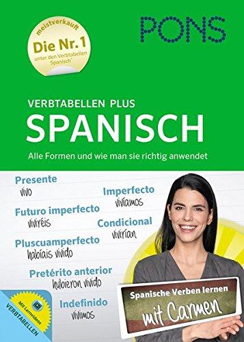 PONS Verbtabellen Plus Spanisch - Mit persönlichem Lehrer, Lernvideos und Online-Übungen