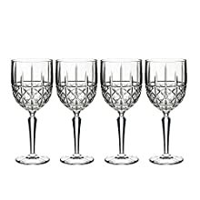 Marquis by Waterford Brady Wine (Set of 4), Clear
