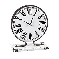 Cape Craftsmen Metal Table Clock