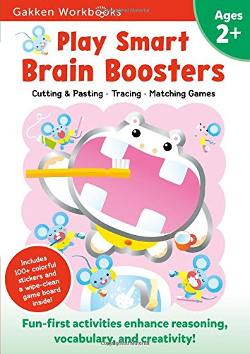 Play Smart Brain Boosters 2+: For Ages 2+ (Gakken Workbooks)