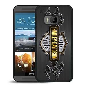 HTC ONE M9 harley davidson logo Black Screen Cellphone Case Custom and Durable Design