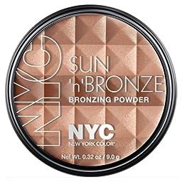 (3 Pack) NYC Sun N Bronze Bronzing Powder - Fire Island Tan