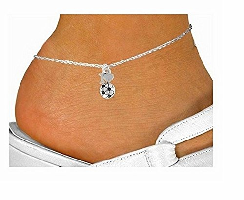 ''I Love Soccer'' & Anklet by Lonestar Jewelry (Image #2)