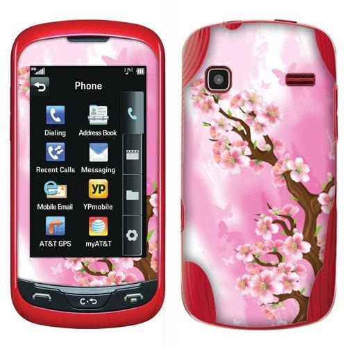Fincibo (TM) LG Xpression C395 Rumor Reflex LN272 Accessories Skin Vinyl Decal Sticker - Spring Flowers Petals