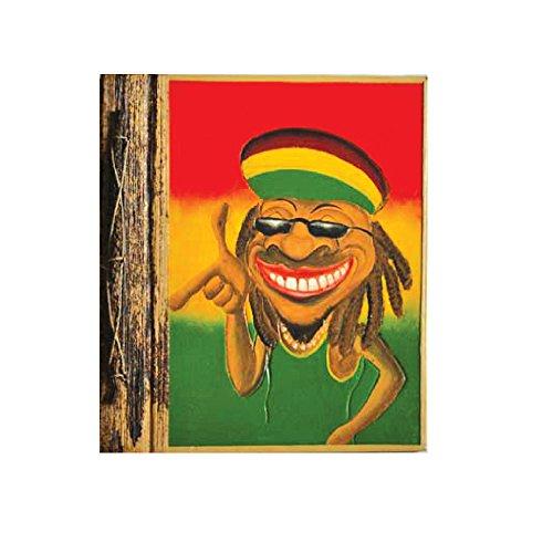 - Rockin Gear Photo Album Banana Leaf Hand Crafted Rasta Portrait Style Photo Album 8