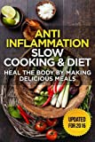The Anti-Inflammatory Cookbook: 60 Quick & Delicious Meals for Breakfast, Lunch, and Dinner - Packed with Anti-Inflammatory Ingredients for Chronic Pain, Gout, and Arthritis