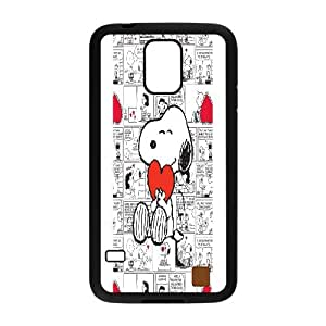 Wholesale hiqh quality smart & cute snoopy hard pattern case cover For Samsung Galaxy S5 TB-SNOOPY-8I51785