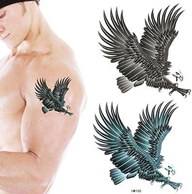 grashine color y impermeable tatuaje pegatinas animales águila en ...