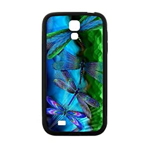 Happy Blue Dragonfly Cell Phone Case for Samsung Galaxy S4