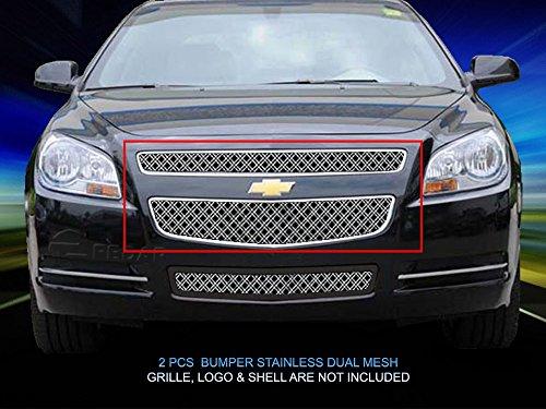 (Fedar Main Upper Dual Weave Mesh Grille for 2008-2012 Chevy Malibu)