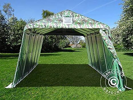 Dancover Carpa Garaje Pro 3, 3x6x2, 4m PVC, Camuflaje: Amazon.es ...