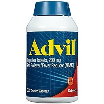 amazon com advil ibuprofen coated tablets 200 mg 360 coated
