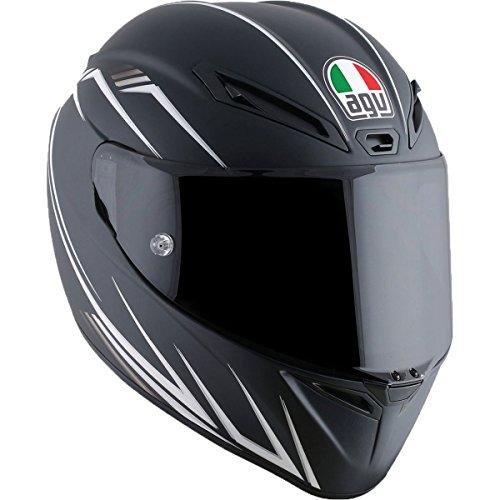 Agv White Helmet - 4